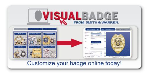 Design your own Smith & Warren quality custom badge